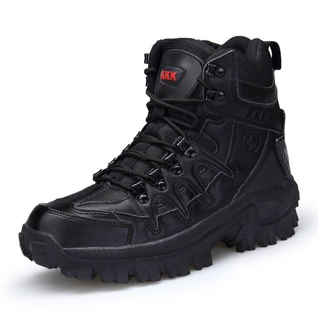 Masorini 2019 erkek Botları Taktik iş çizmeleri Erkekler Ahşap Arazi Askeri Desert Combat Ayakkabı Taktik Çizmeler Botas Mujer XX-314