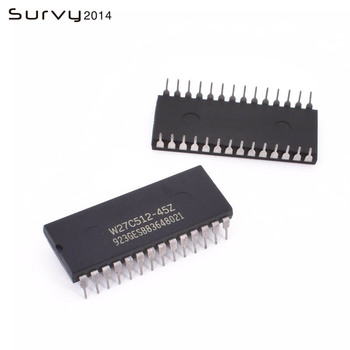 10PCS W27C512-45Z W27C512 DIP IC EEPROM 512KBIT 45NS NEW GOOD QUALITY moc3021 dip 8 new products good quality can directly buy or contact the seller