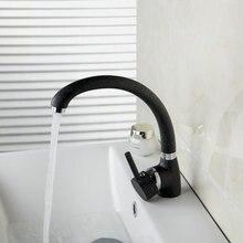 Горячей/холодной воды Одной ручкой/отверстие кухня Cozinha torneira хром поворотный 360 бортике 92279-1 бассейна раковина кран, смеситель