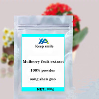 Mulberry fruit extract powder reduce blood sugar whitening and beauty face decoration anti cancer anti aging anthocyanins
