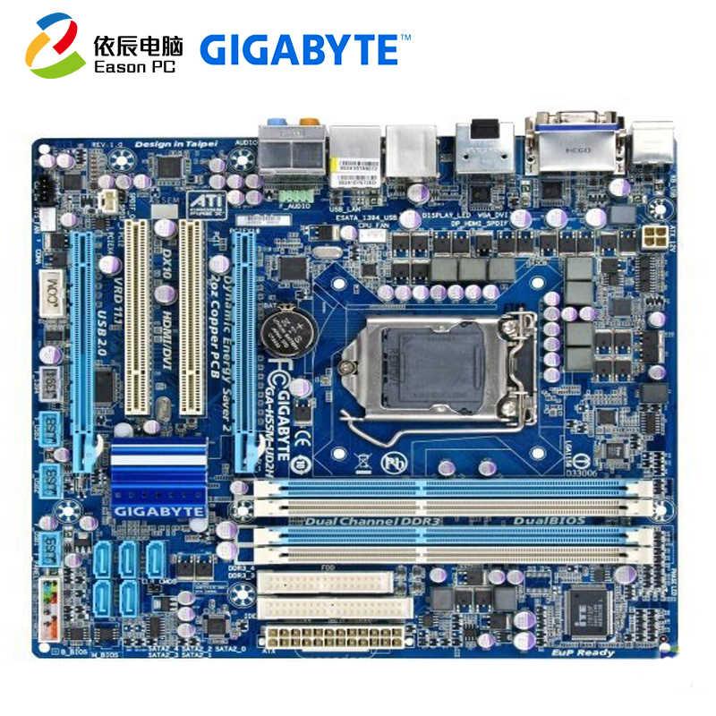 Gigabyte GA-H55M-UD2H LGA1156 DDR3 I3 I5 I7 Micro ATX