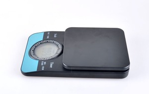 Image 3 - FeiC 2019 new arrival Coffee Drip Scale/Timer Digital Kitchen Scale 3000g/0.1g Count down available Baking cooking for barista