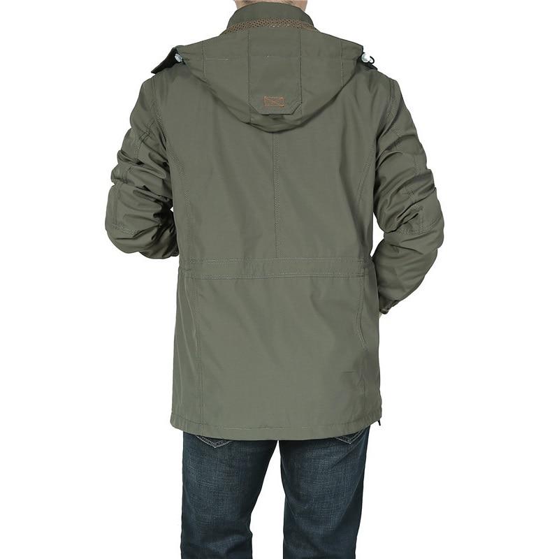 Աշնանային բաճկոն տղամարդիկ ռումբի - Տղամարդկանց հագուստ - Լուսանկար 4