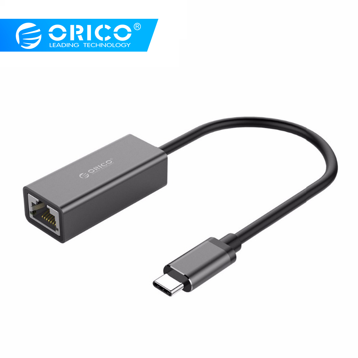 ORICO USB C 3.1 to RJ45 Gigabit Ethernet Adapter for MacBook Samsung Galaxy S9 S8 Huawei Mate P20 P10 Pro Type C USB 3.1 AdapterORICO USB C 3.1 to RJ45 Gigabit Ethernet Adapter for MacBook Samsung Galaxy S9 S8 Huawei Mate P20 P10 Pro Type C USB 3.1 Adapter