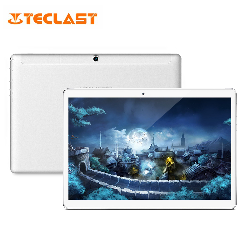 Teclast A10H 10.1 inch Tablet PC 2GB RAM 16GB ROM Android 7.0 MTK8163 Quad Core 1.3GHz Dual Cameras Bluetooth