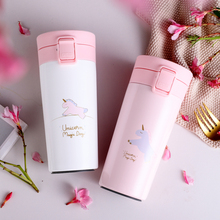 Unicorn Stainless Steel Portable Water Bottle