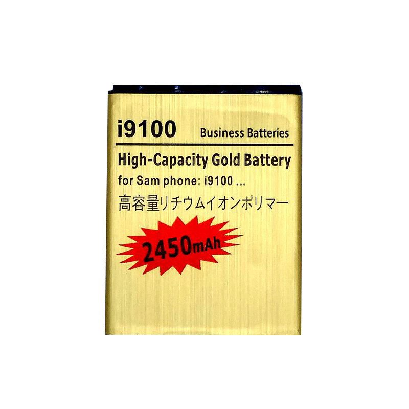 <font><b>i9100</b></font> Battery for Samsung Galaxy S2 i9108 i9050 i9105 i9103 i9188 i9100g Rechargeable li ion Accumulator Batteries on the Phone image