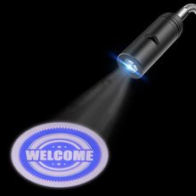 WELCOME MERRY CHRISTMAS Logo Advertising Projector 110V 220V E27 Base Door light WELCOME logo Bar Hotel Coffee shop Night Lamp(China)