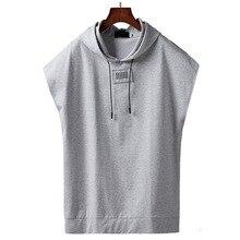 Sommer TOP baumwolle männer große größe t shirt mit kapuze fett kerl plus größe männer kurz hülse T shirt hüfte hop L 7XL 8XL 9XL fehlschlag 160 cm