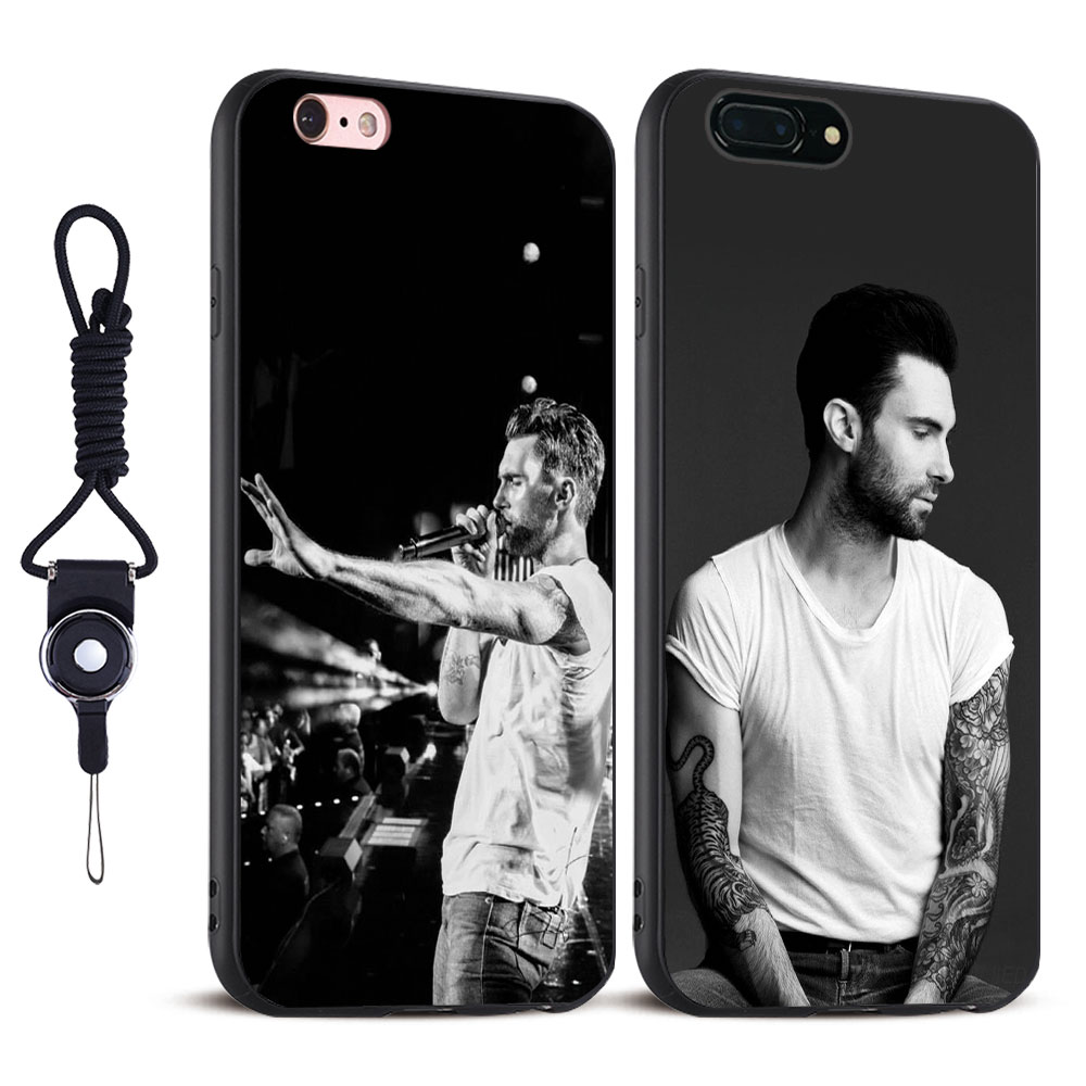 Adam Levine maroon 5 Coque Soft Silicone Tpu Phone case Cover Shell For Apple iPhone 5 5S SE 6 6S 6Plus 6sPlus 7 7Plus 8 8Plus X