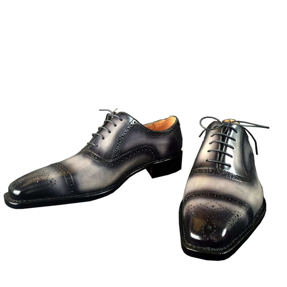 Sipriks Luxury Mens Goodyear Welted Shoes Italian Custom Patina Leather Brogue Oxfords Male Wedding Dress Shoes Boss Ofiice Shoe-in Formal Shoes from Shoes    2