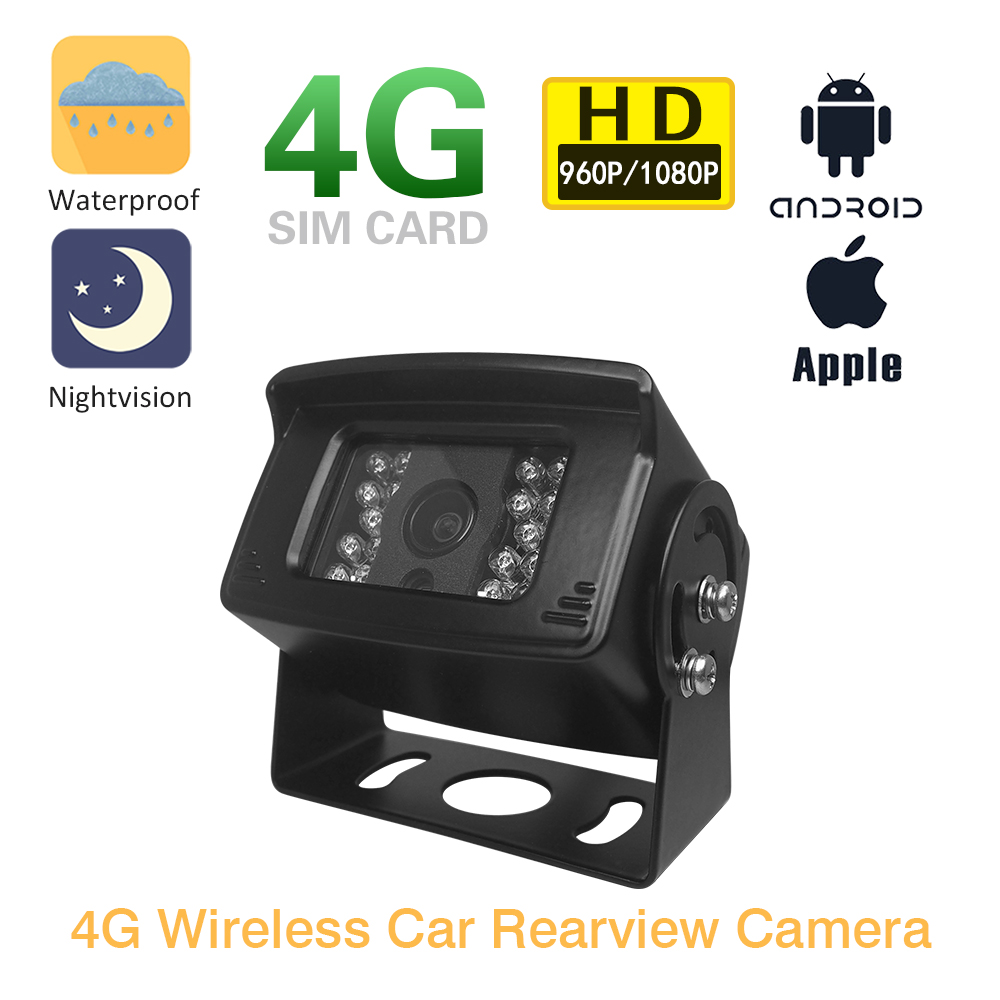 3G 4G Sim Card Wireless Camera 1080P 960P Outdoor Support Max 128G TF Card Storage P2P View MINI CCTV Security Surveillance Cam
