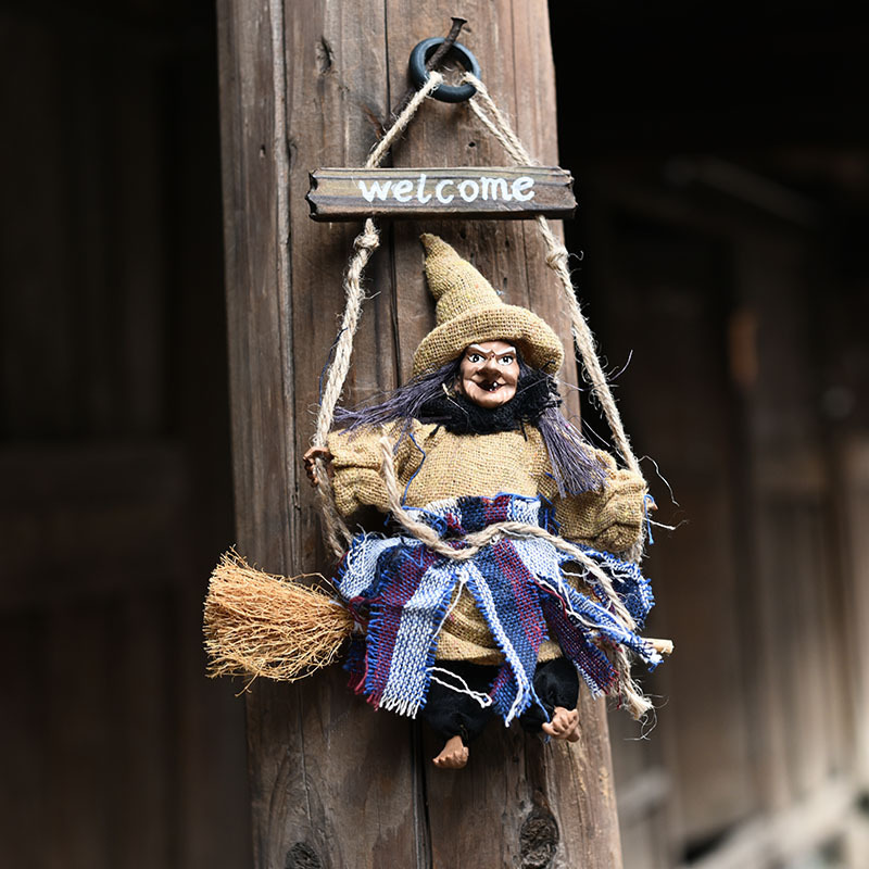 Creepy Halloween Hanging Ghost Scary Toys Props Horror