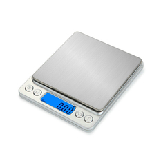 Portable gold jewelry weighing scale electronic table household scales 0.1g 0.01g kitchen Libra balance