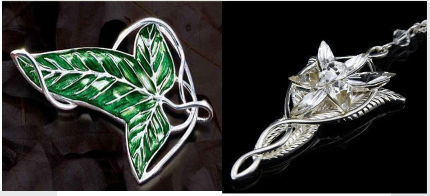 1x set lotr lord of the rings elven leaf brooch arwen evenstar 1x set lotr lord of the rings elven leaf brooch arwen evenstar pendant necklace in chain necklaces from jewelry accessories on aliexpress alibaba aloadofball Image collections