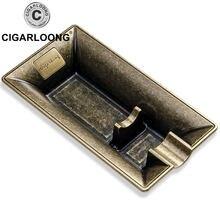Металлическая Пепельница для сигар оригинальный дизайн роскошные