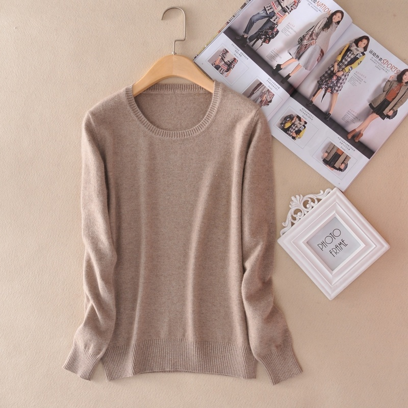 New High Quality Cashmere Sweater Women Winter Pullover Solid Knitted Sweater Top For Women Autumn Female Oversized Sweater 1500