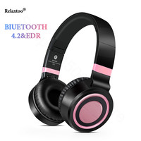 4 in 1 Multifunctional Stereo Bluetooth 4.2+EDR Headphones Wireless Headset Music Earphone with Micphone For PC mobile phone Mp3