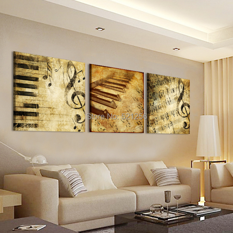 Modern Wall Art Home Decoration Printed Oil Painting Pictures No Frame Canvas Prints Panel Classical