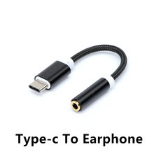 FFFAS USB 3.1 Type C Adapter to 3.5mm Earphone Headset Speaker Cable Audio Adapter Converter Cable For Xiaomi 6 mi6 Letv 2 letv2