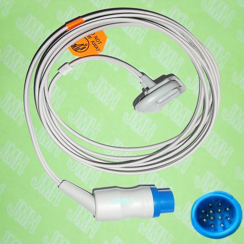 Compatible with 13 PIN Mennen Oximeter monitor the Neonate silicone wrap spo2 sensor.Compatible with 13 PIN Mennen Oximeter monitor the Neonate silicone wrap spo2 sensor.
