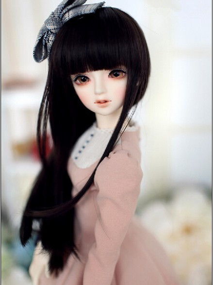 1//4 Bjd Girl Doll Female Dolls  with free eyes facial makeup a resin figure