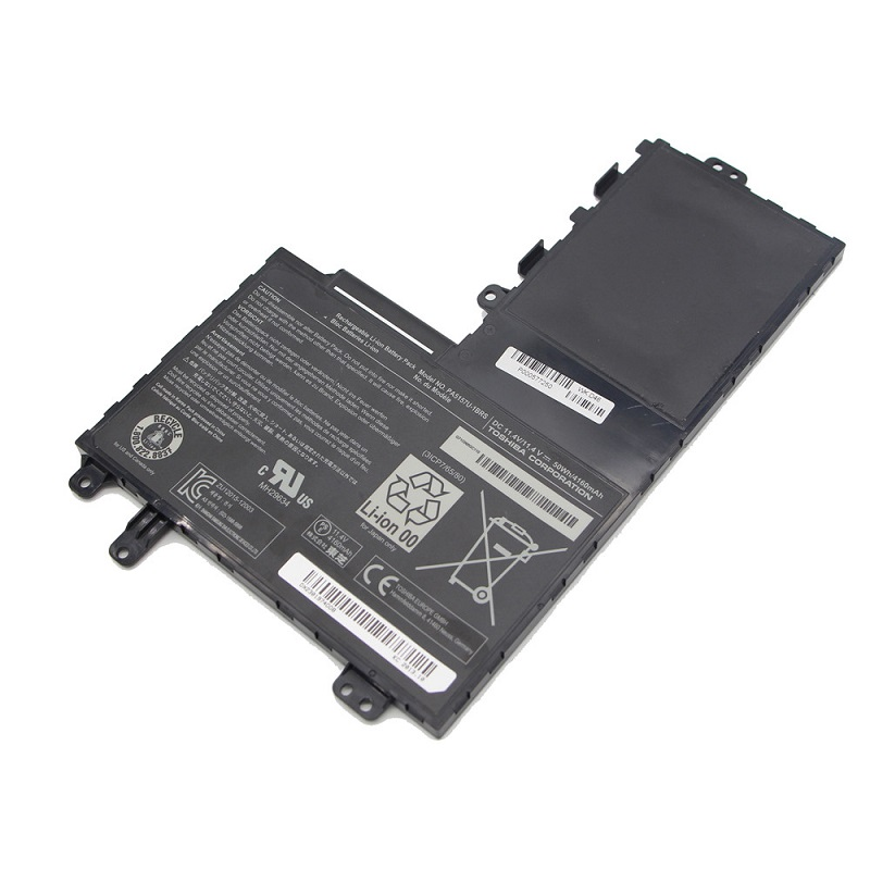 11.4V 50Wh Original Battery For Toshiba Satelite E45T E55 Series Laptop P000577250  Free Shipping