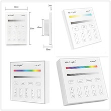 Mi Light Smart Touch Panel Controller T1 T2 T3 T4 B1 B2 B3 B4 Single Color /RGBW/RGB + CCT For Led Strip / Panel Light /Bulbs