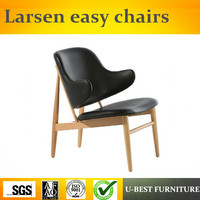 U BEST High quality leisure chair modern solid wood ib kofod larsen chair Easy Chair