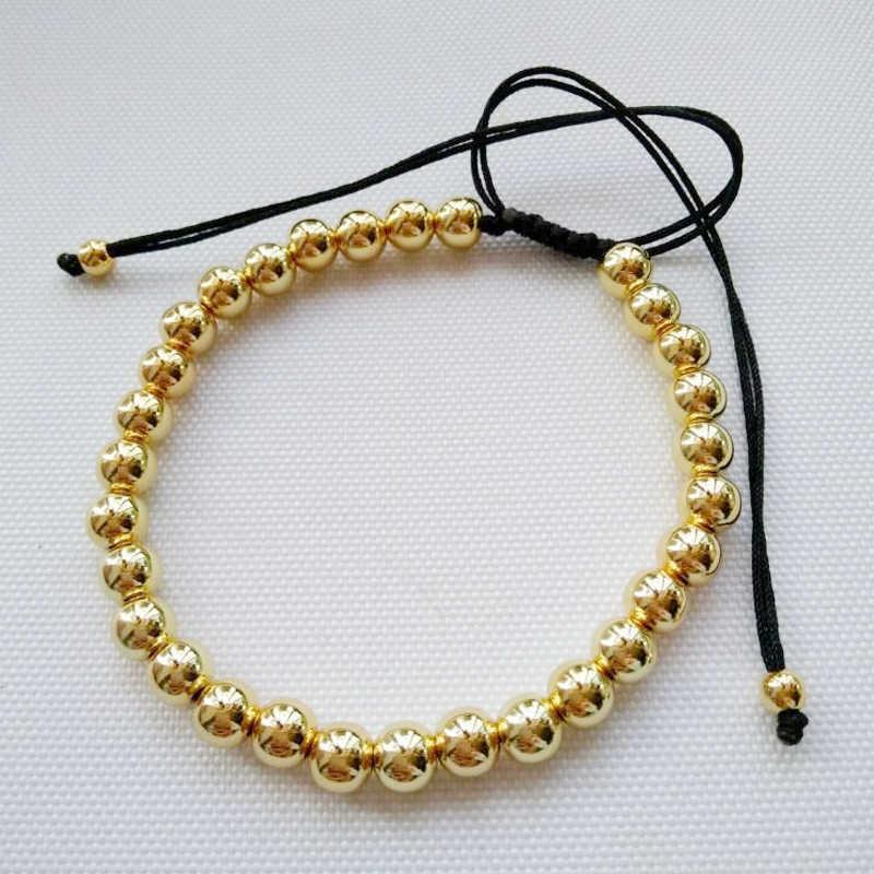 Braiding Stainless Steel Jewelry Charms Beads Bracelets & Bangles Men femme Gifts For women female braclet braslet Rope Bracelet