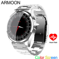 Smart Watch DT19 Bluetooth Android IOS Wristwatch Heart Rate Smart Band Sleep Monitor Fitness Tracker Color Screen Round Watch