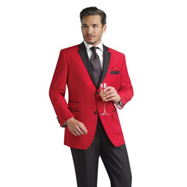 High Quality Navy Blue and Red Suit-Buy Cheap Navy Blue and Red ...