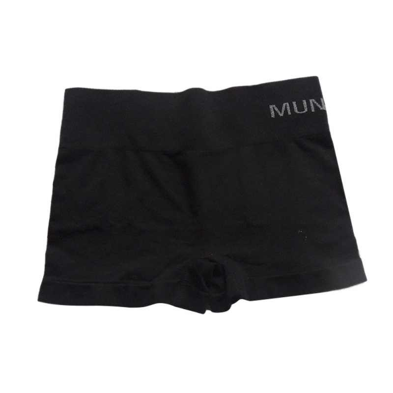 Wanita \ 'S Celana Safety Seamless High Waist Elastis Ketat Bernapas Safety Celana Pendek Warna Solid 2018