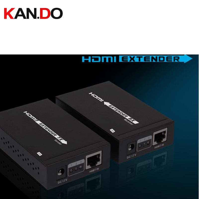 LKV375-100 HDbaseT Extender Transmits HDMI Signal 100M Extend 1080p 3D, 24bits Deep Color 4kx2k, CEC And HDCP AV Adapter