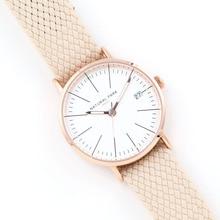Classic Rose Gold and White Dial Black Nylon Quartz Watch Brand Women Watch Relogio Feminino 2016 Clock Women Fashion Wristwatch