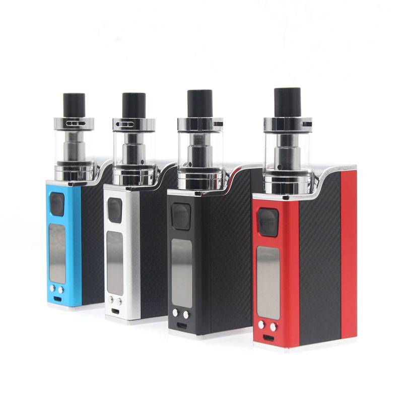 E-XY electronic Cigarette 150W Vape Box Kits adjustable wattage vaper pen mods kit 1500mah LED light display electronic