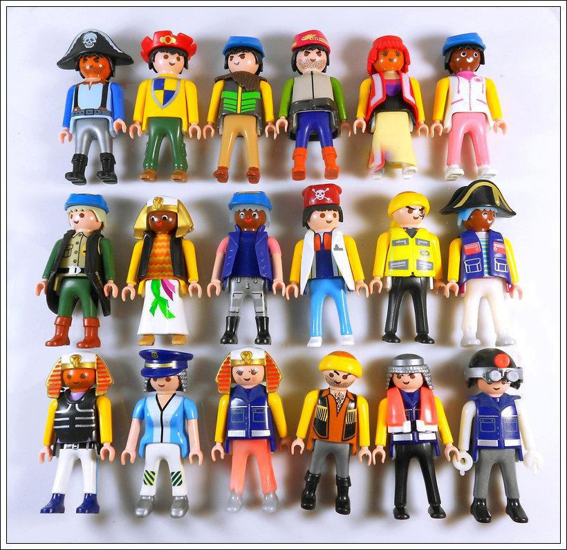 Toys For People : Pcs playmobil figures knights people horses native