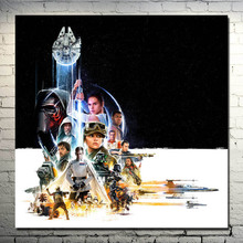 Star Wars Movie Art Silk Wall Poster