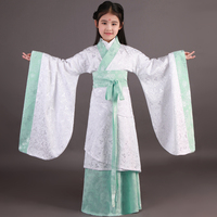 Classical Chinese Folk Dance National Costume China Dance Costumes Children Traditional Ancient Chinese Clothing Kids Girl
