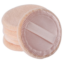 New Top Fashion  Foundation Beauty Cosmetic Facial Face Sponge Powder Puff Suitable for professional or home