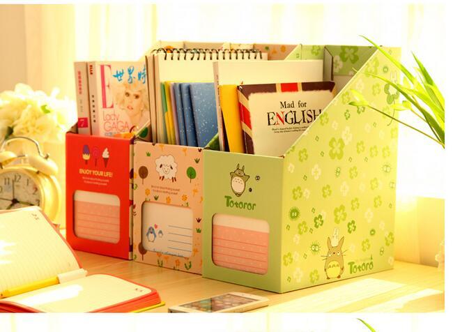2pcs high quality document storage box diy magazine box for Diy magazine box