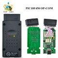 El más nuevo Firmware V1.59 120309A Software OPEL OPCOM OP COM OP-COM CAN BUS Obdii De Diagnóstico Para Opel Chip PIC18F458