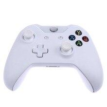 Новые белые Беспроводной игровой контроллер джойстика для Microsoft Xbox One игры