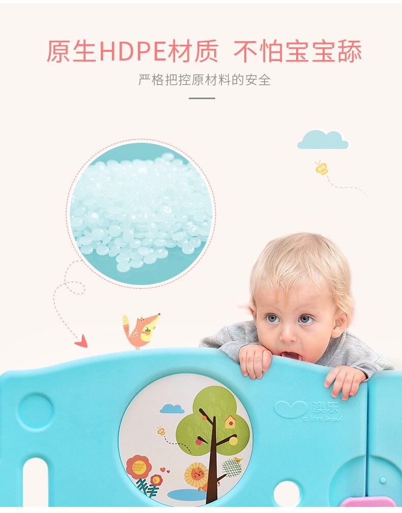 rastejando esteira criança cerca de segurança interior bebê jogo cerca brinquedo
