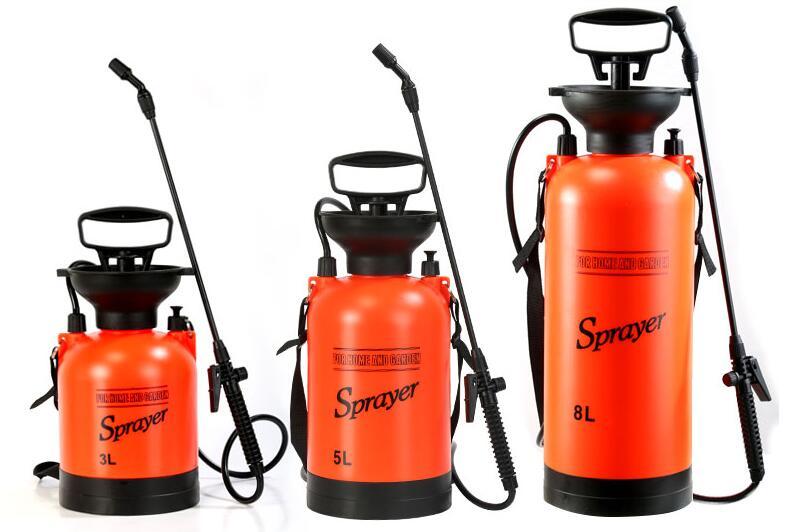8L kézi nyomású permetező peszticid-lefedettséghez légnyomásos - Kerti termékek