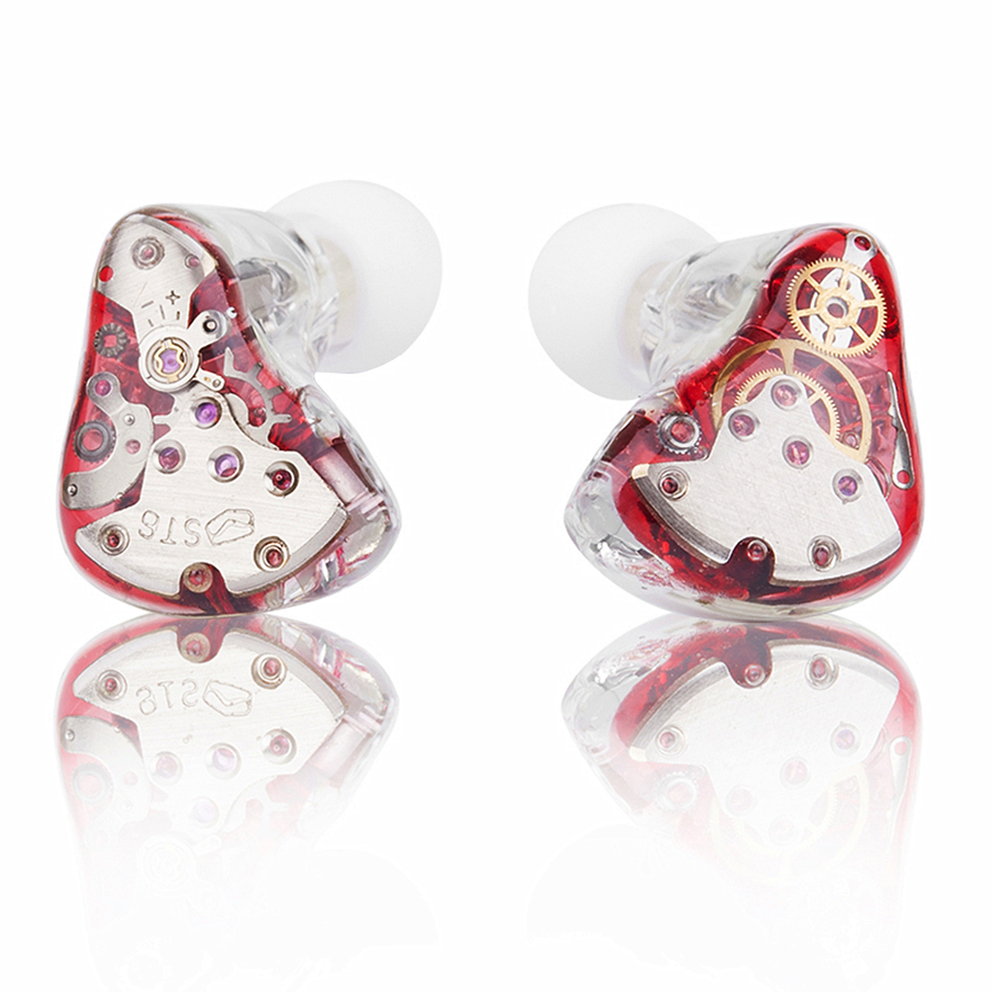 2016 VT Gear Custom Made in Ear Earphone Balanced Armature Around Ear Earphone With MMCX Plated Earphone