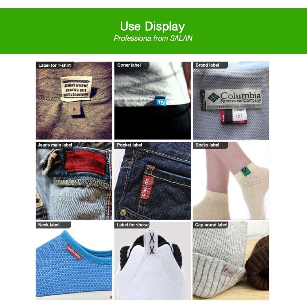 На заказ Одиночная атласная лента ткань печать Швейные бирки для тканевой этикетки Пользовательский логотип печатные бирки одежды