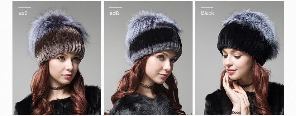 women\'s hats fur PCM002 (5)