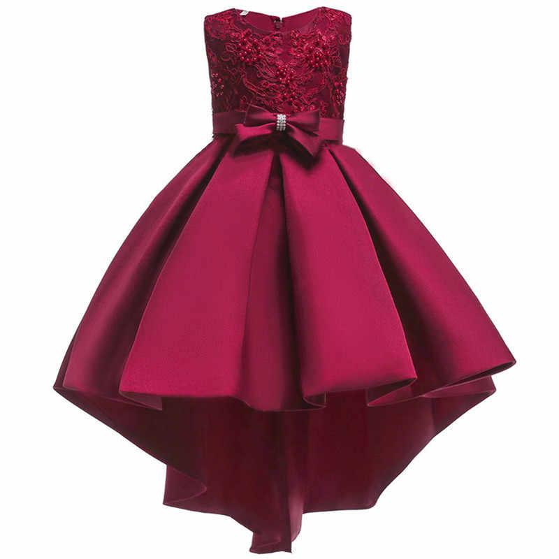 82fe992134f ... Платье для маленьких девочек элегантный 2018 летняя одежда Детские  платья для девочек вечерние партии свадебное вечернее ...