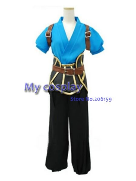 Аниме мужской комбинезон униформа ткань мужской костюм сказки бездны косплей костюм мужской костюм на Хэллоуин